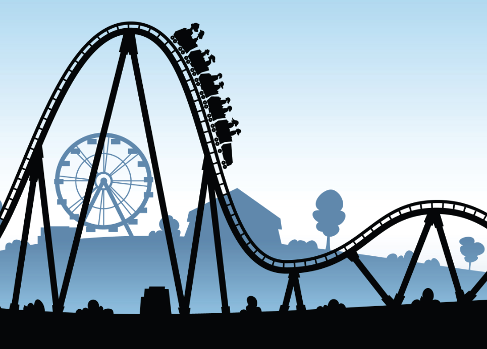 Image result for roller coaster volatility